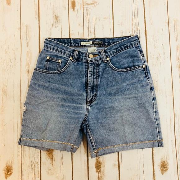 St. John's Bay Pants - St. John's Vintage Mom High Waist Shorts